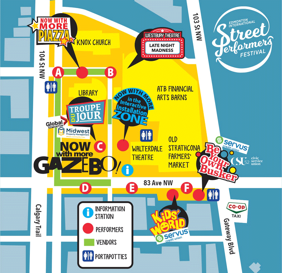 StreetFest Site Map