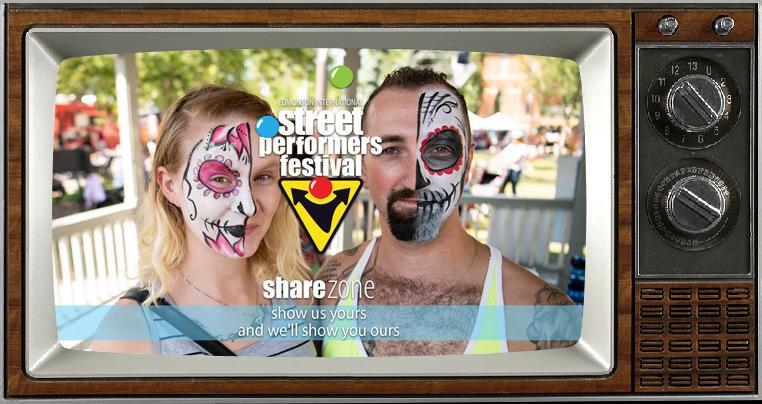 Edmonton StreetFest | Share Zone
