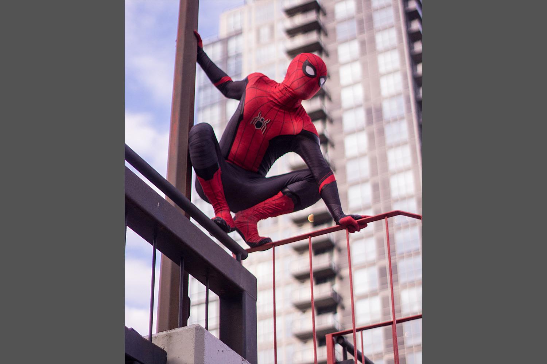 Edmonton StreetFest   YEG Spiderman